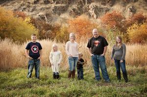 Dr. Thuernagle and his family, Idaho Falls dentist